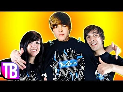 Justin Bieber Reveals the Secret to His Hair! - Buy a TeraBrite T-Shirt and Watch Never Say Never 3D