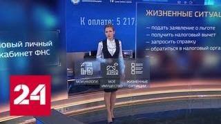 Кабинет налогоплательщика превратился в приложение для смартфонов - Россия 24