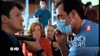 """CASTLE S4X07 - BA / TEASER France 2 Saison 4 - Ep. 7 """"Otages"""" - Lundi 15/10/2012"""