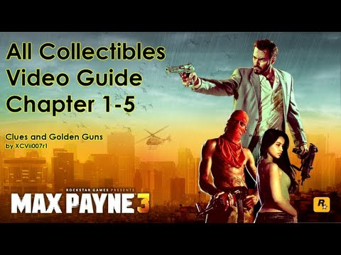 Max Payne 3 - All Clues and Golden Gun...