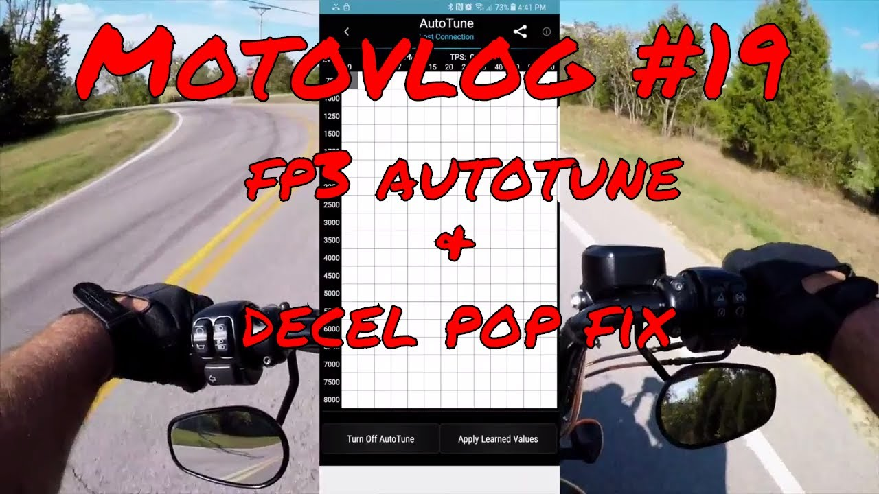Sportster Iron 883 Motovlog-FP3 Autotune & Decel Pop Fix