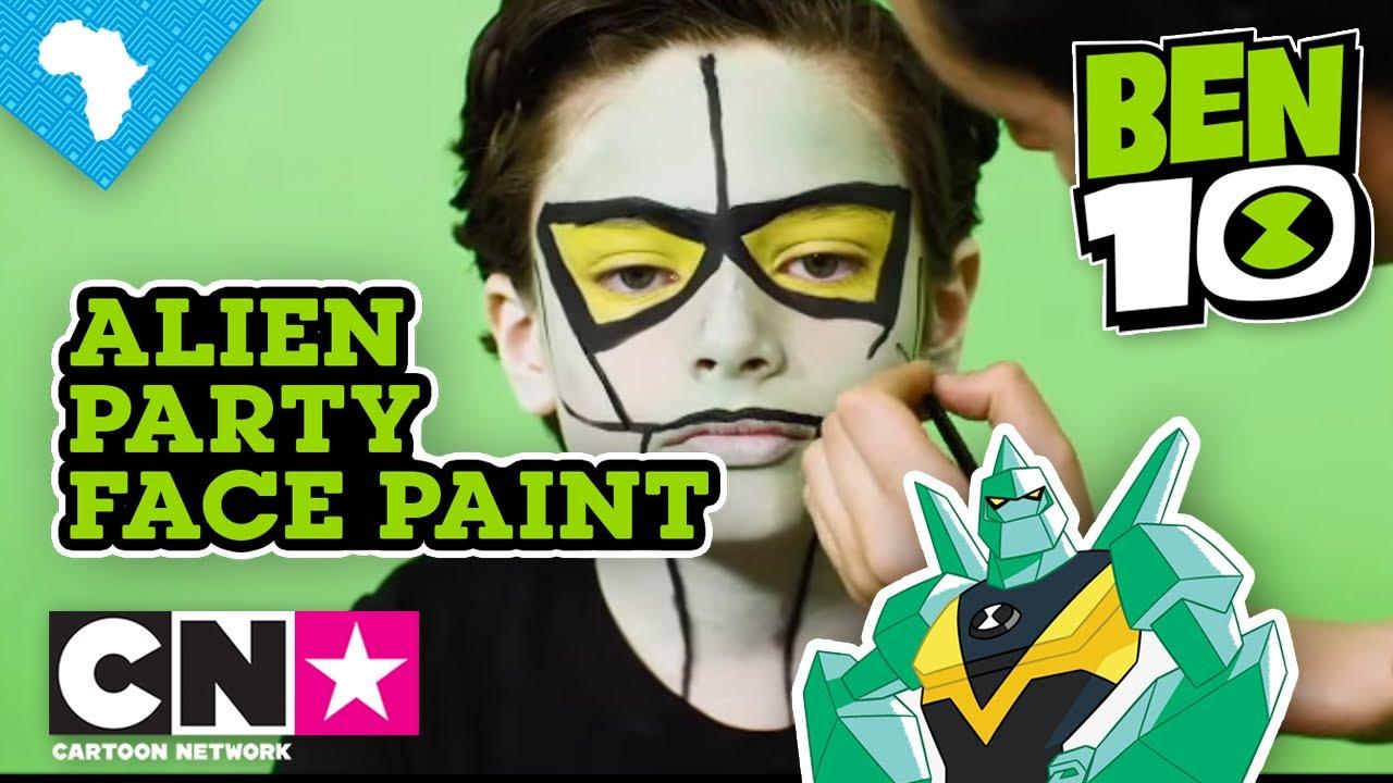 Ben 10 Alien Party Diamond Head Face Paint Cartoon Network