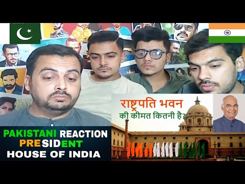 Pakistani Reaction on | राष्ट्रपति भवन (The President House of India) thumbnail