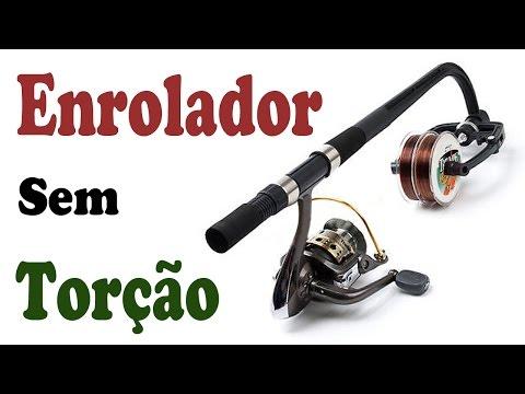 ENROLADOR de LINHA de PESCA s/ TORÇÃO no MOLINETE ◆  Fishing Line Spooler Winder Seiko