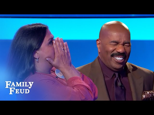 Crazy answers win $20,000!   Family Feud