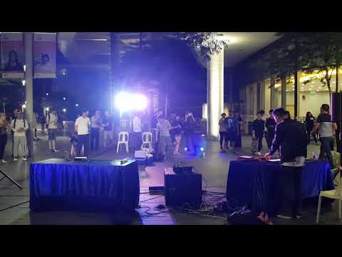 NUS Electronic Music Lab performance at NUS Town Plaza