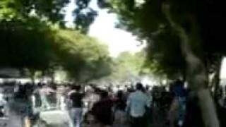 Unseen footage of protests in Isfahan 15 June 09 Iran