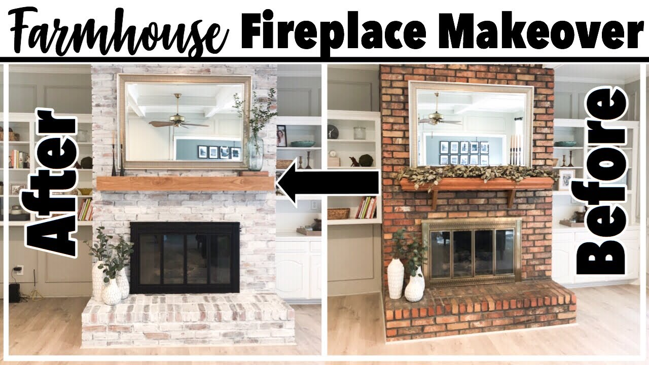 Farmhouse Fireplace Makeover Farmhouse Decorate With Me Rustic Decor Diy Youtube
