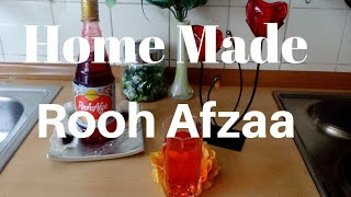 ROOH AFZA (How to make Rooh afza at Home)