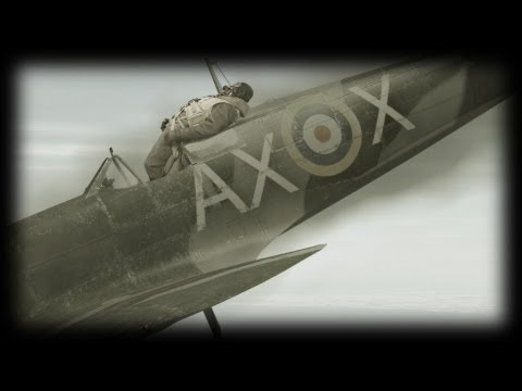 Bailing from a burning Spitfire; ww2 Spitfire pilot interview Dave Hastie 1