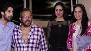 Haseena Parkar Movie Special Screening | Shraddha Kapoor Mom, Siddhanth Kapoor, Ankur Bhatia