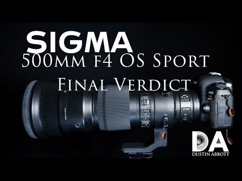 Sigma 500mm F4 OS Sport Review | 4K