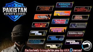 Pakistan E-Sports League First Time In Pakistan | Supari Custom Rooms Pubg Mobile