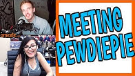 MEETING PEWDIEPIE ON OMEGLE