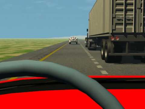 Animated Traffic Accident Reenactment - YouTube