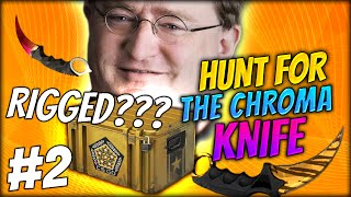 IS THIS GAME RIGGED????? ★ CS:GO CHROMA CASE OPENING #2