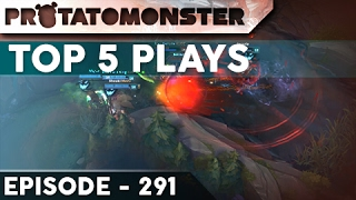 League of Legends Top 5 Plays Week 291 | Ft. Unkillable Maokai and Insane 1v5 Outplays