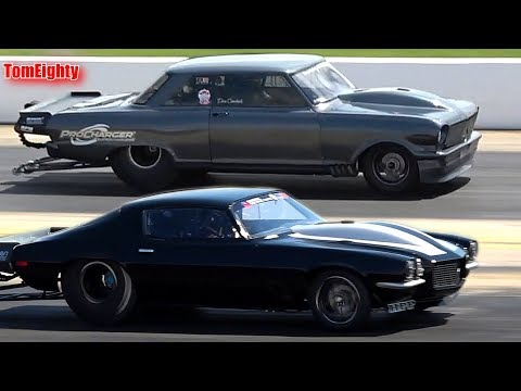 Street Outlaws Daddy Dave vs Monza