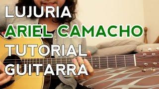 lujuria ariel camacho tutorial acordes adornos como tocar en guitarra