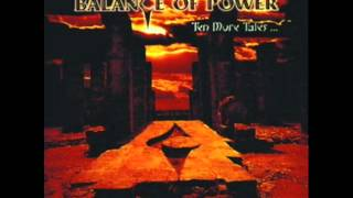 BALANCE OF POWER -Blind Man
