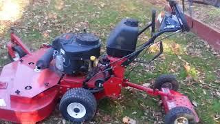 Lawn Mower Sulky