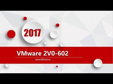 VMware VCP6.5-DCV 2V0-602 certification question dump