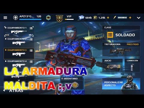 LA ARMADURA MALDITA nova elite modern combat 5