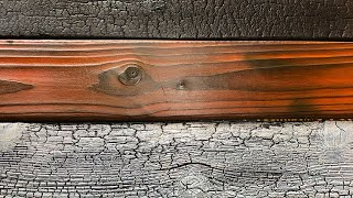 How To Shou Sugi Ban - Burning Different Wood Species
