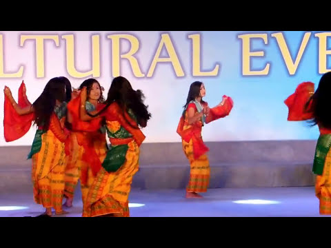Bardwi Sikhla dance of the Bodos 2016