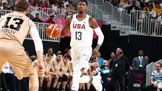 Paul George FULL Pre-Olympic Highlights- 9.7 PPG