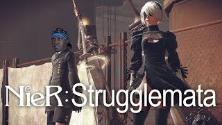 「#StruggleNation STREAM」 NieR: Strugglemata (Hard) [TAKE 3]