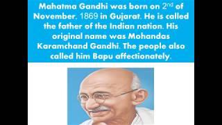Mahatma Gandhi Essay in Simple English