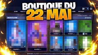 BOUTIQUE FORTNITE du 22 MAI 2019 - ITEM SHOP 22 May !