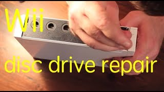 How to replace the optical drive on a Nintendo Wii