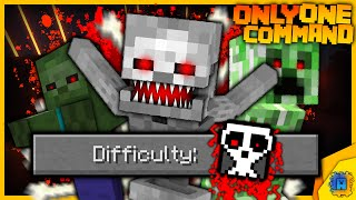 New Difficulty: HELL in only one command! | Minecraft thumbnail