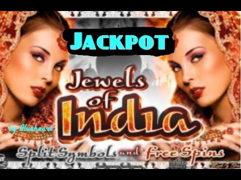 JEWELS OF INDIA slot machine JACKPOT HANDPAY