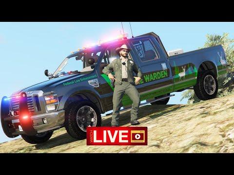LSPDFR LIVE - Game Warden - Live Police Radio