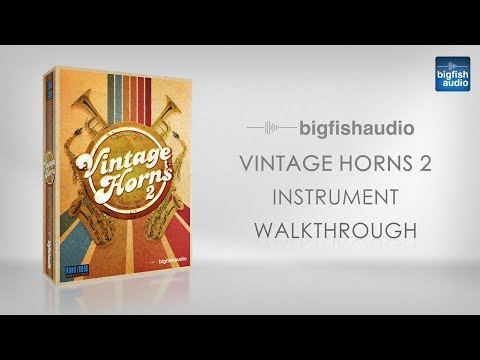 Vintage Horns 2 - Instrument Walkthrough