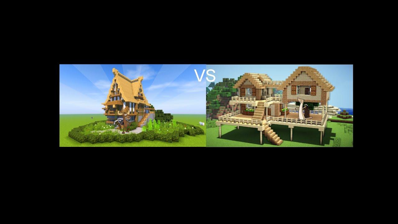 ULTIMATE Minecraft Java vs Bedrock edition Build BATTLE ...
