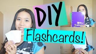♡ DIY Flashcards ♡ | lexyheartsbeauty