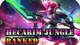 Das Todespony ist wieder unterwegs! Hecarim Jungle | Ranked League of Legends Gameplay