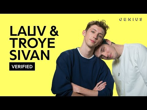 Lauv & Troye Sivan i'm So Tired... Official Lyrics & Meaning | Verified