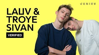 "Download Lauv & Troye Sivan ""i'm so tired..."" Official Lyrics & Meaning 