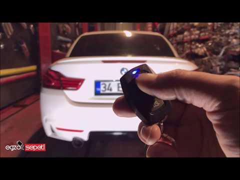 BMW F33 4.20 DİZEL KUMANDALI VAREX EGZOZ SESİ