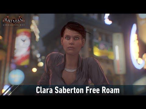 MESH; Batman; Arkham Knight; Clara Saberton Free Roam