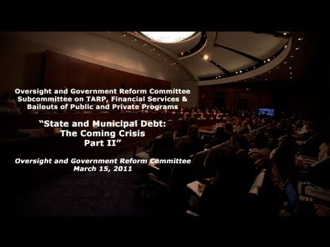 """State and Municipal Debt: The Coming Crisis? Part II"""