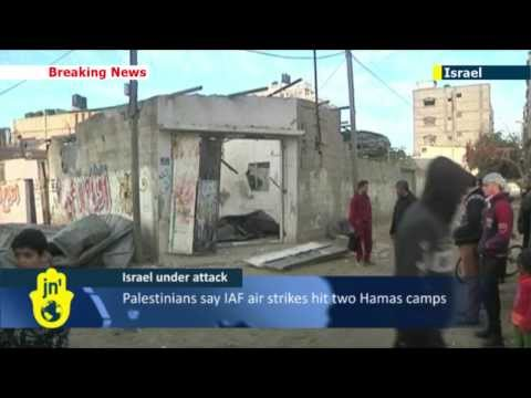 Israel Under Attack: Israeli Air Force targets Gaza after Palestinian rocket attack on Ashkelon