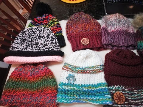 Design Your Own Loom Hat Using Only Knit   Purl Stitches! - YouTube 5e379ada5df