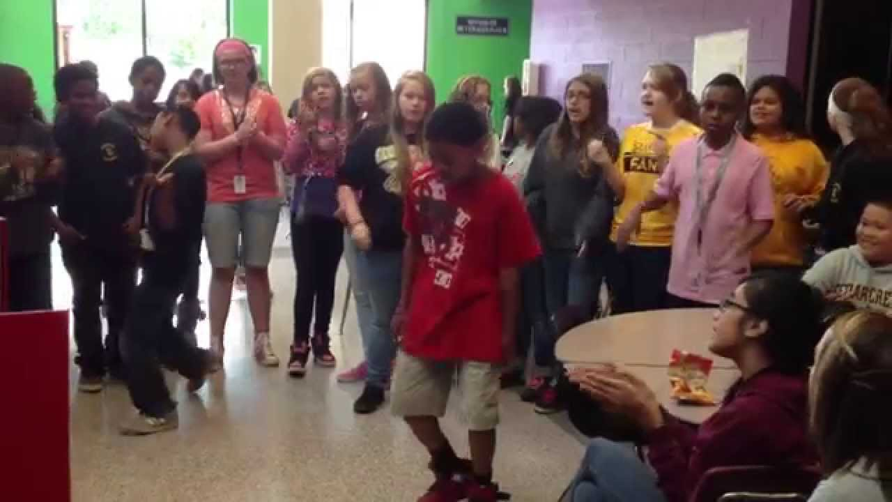 Cedarcrest Middle School's Happy Students - YouTube