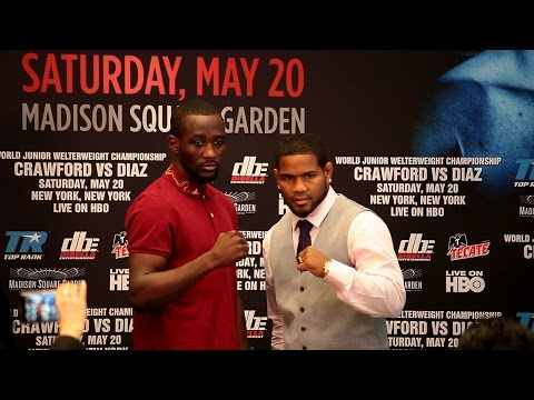 Terence Crawford vs. Felix Diaz Full Kick Off Press Conference Video